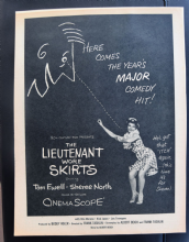 The Lieutenant Wore Skirts (1956) - Rita Moreno | Vintage Trade Ad